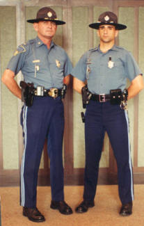 Lt. Roger Ford (left) and Tpr. Mike Conti, National Governors' Association Conference 1994