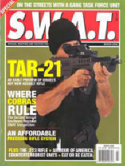 SWAT March 2000. Cover story: Mike Conti's review of the TAR-21